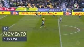 Sporting CP, Jogada, C. Piccini aos 10'