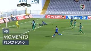 CD Tondela, Jogada, Pedro Nuno aos 40'
