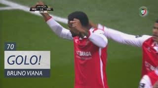 GOLO! SC Braga, Bruno Viana aos 70', SC Braga 1-0 FC P.Ferreira