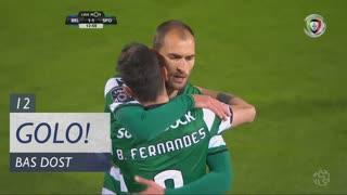 GOLO! Sporting CP, Bas Dost aos 12', Belenenses 1-1 Sporting CP