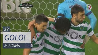 GOLO! Sporting CP, M. Acuña aos 39', Sporting CP 3-0 GD Chaves