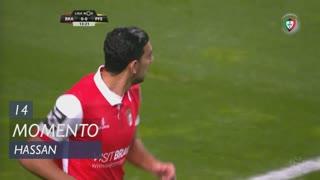 SC Braga, Jogada, Hassan aos 14'
