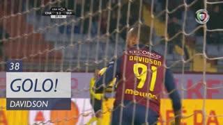GOLO! GD Chaves, Davidson aos 38', GD Chaves 2-2 Vitória SC