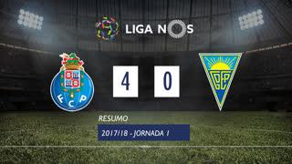 Liga NOS (1ªJ): Resumo FC Porto 4-0 Estoril Praia