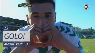GOLO! Vitória FC, André Pereira aos 23', Vitória FC 1-0 CD Tondela