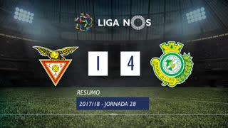 Liga NOS (28ªJ): Resumo CD Aves 1-4 Vitória FC