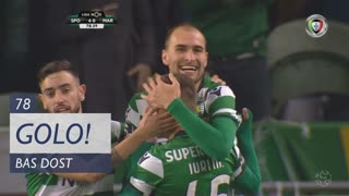 GOLO! Sporting CP, Bas Dost aos 78', Sporting CP 4-0 Marítimo M.