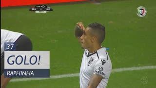 GOLO! Vitória SC, Raphinha aos 37', SC Braga 1-1 Vitória SC