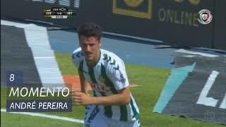 Vitória FC, Jogada, André Pereira aos 8'