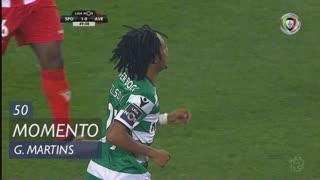 Sporting CP, Jogada, Gelson Martins aos 50'