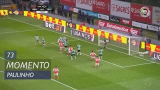 SC Braga, Jogada, Paulinho aos 73'