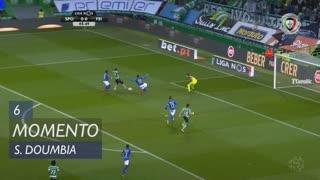 Sporting CP, Jogada, S. Doumbia aos 6'