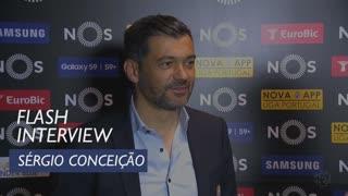 Liga (34ª): Flash interview Sérgio Conceição