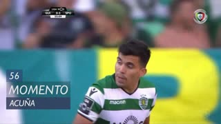 Sporting CP, Jogada, M. Acuña aos 56'