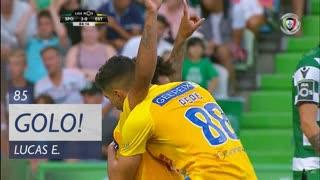 GOLO! Estoril Praia, Lucas Evangelista aos 85', Sporting CP 2-1 Estoril Praia