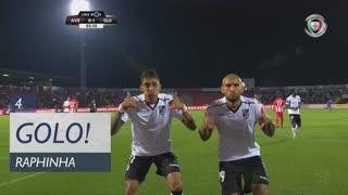 GOLO! Vitória SC, Raphinha aos 4', CD Aves 0-1 Vitória SC