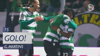 GOLO! Sporting CP, Gelson Martins aos 75', FC P.Ferreira 0-2 Sporting CP