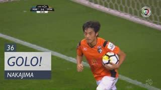 GOLO! Portimonense, S. Nakajima aos 36', FC Porto 3-1 Portimonense