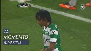 Sporting CP, Jogada, Gelson Martins aos 72'