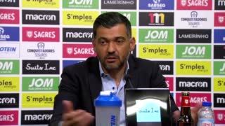 Liga (34ª): Conferência imprensa Sérgio Conceição