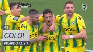GOLO! CD Tondela, Ricardo Costa aos 43', CD Tondela 1-0 GD Chaves