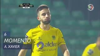 FC P.Ferreira, Jogada, António Xavier aos 6'