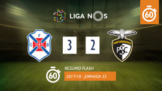 Liga NOS (33ªJ): Resumo Flash Os Belenenses 3-2 Portimonense