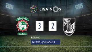 Liga NOS (24ªJ): Resumo Marítimo M. 3-2 Vitória SC