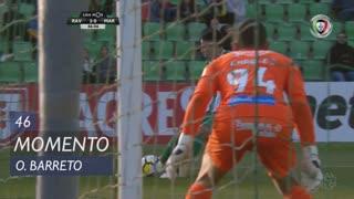 Rio Ave FC, Jogada, O. Barreto aos 46'