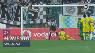 Boavista FC, Jogada, Sparagna aos 27'