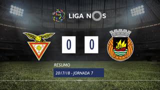 Liga NOS (7ªJ): Resumo CD Aves 0-0 Rio Ave FC