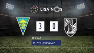 Liga NOS (2ªJ): Resumo Estoril Praia 3-0 Vitória SC