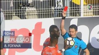 Moreirense FC, Expulsão, Boubacar Fofana aos 90'+6'