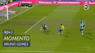 Estoril Praia, Jogada, Bruno Gomes aos 90'+1'