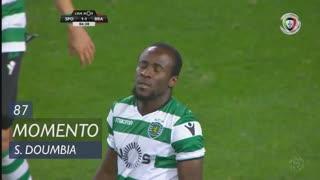 Sporting CP, Jogada, S. Doumbia aos 87'