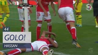 GOLO! SC Braga, Hassan aos 44', CD Tondela 1-1 SC Braga