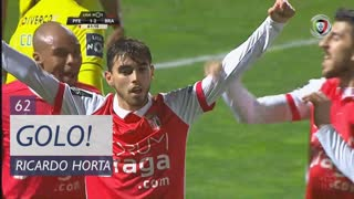 GOLO! SC Braga, Ricardo Horta aos 62', FC P.Ferreira 1-3 SC Braga