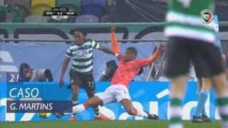 Sporting CP, Caso, Gelson Martins aos 21'