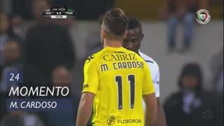 CD Tondela, Jogada, Miguel Cardoso aos 24'