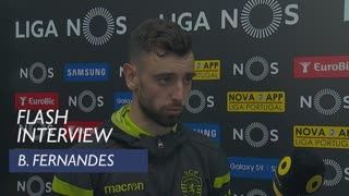 Liga (34ª): Flash interview Bruno Fernandes