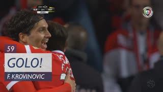 GOLO! SL Benfica, F. Krovinovic aos 59', SL Benfica 3-1 Estoril Praia
