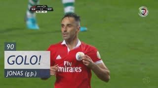 GOLO! SL Benfica, Jonas aos 90', SL Benfica 1-1 Sporting CP