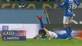 Sporting CP, Caso, Gelson Martins aos 18'