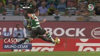 Sporting CP, Caso, Bruno César aos 83'