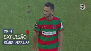 Marítimo M., Expulsão, Rúben Ferreira aos 90'+4'