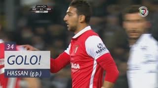 GOLO! SC Braga, Hassan aos 34', Vitória SC 0-2 SC Braga