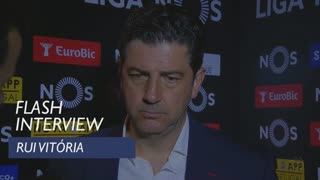 Liga (33ª): Flash interview Rui Vitória