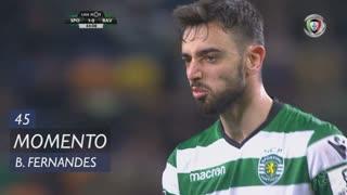 Sporting CP, Jogada, Bruno Fernandes aos 45'