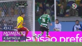 Sporting CP, Jogada, Rodrigo Battaglia aos 45'+1'