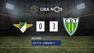 Liga NOS (4ªJ): Resumo Moreirense FC 0-3 CD Tondela